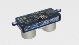 Ultrasonic HC-SR04 sensor