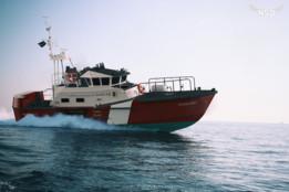 Coast guard fast boat