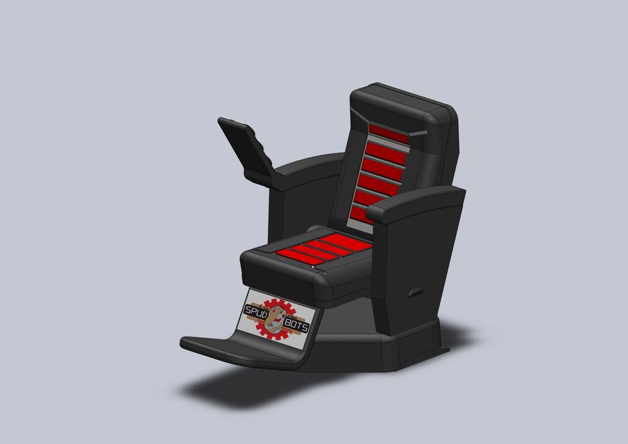 Superieur ILevIt MagLev Hover Chair | 3D CAD Model Library | GrabCAD
