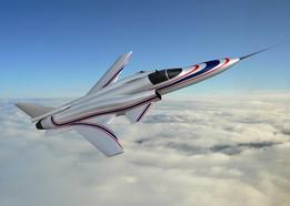 Grumman X-29 model