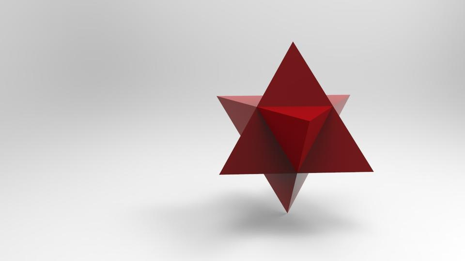 how to draw a tetrahedron in 3d