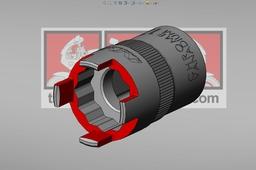 Honda NSR 125 lock nut wrench 20x24.