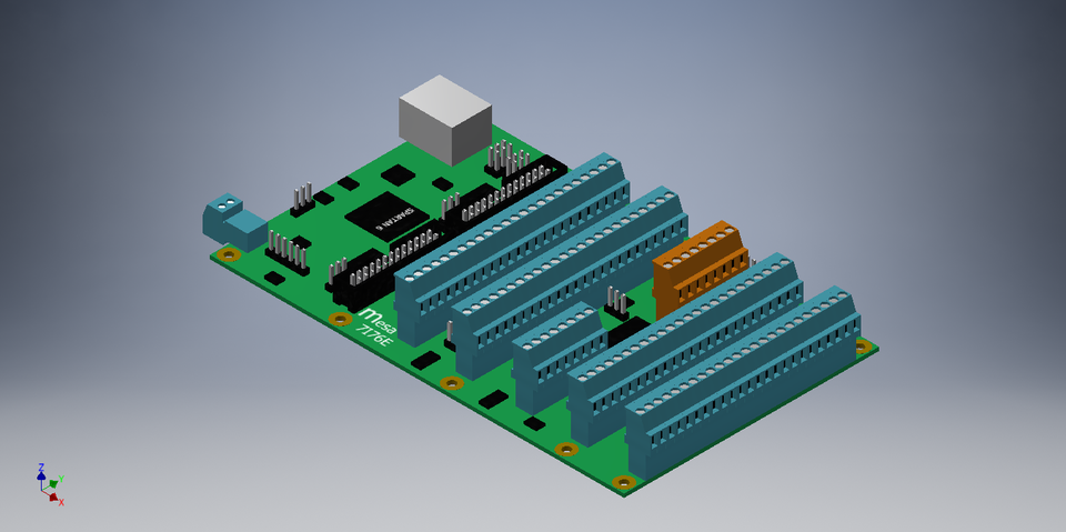 MESA 7i76e / 7I76E | 3D CAD Model Library | GrabCAD