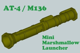 AT-4 Mini Marshmallow Launcher