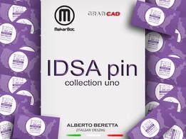 IDSA pin Collezione UNO