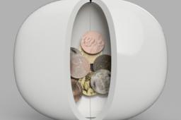 Coin Purse Pebble