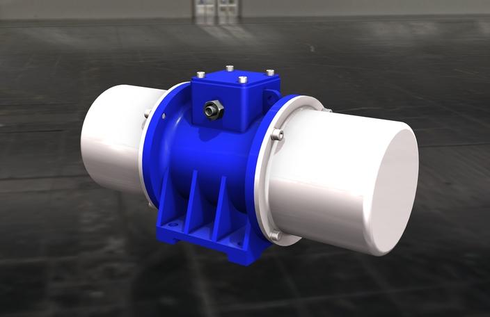 Vibrating Motor Electric Vibrator Autodesk Inventor