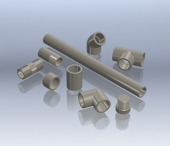 "3/4"" Polypropylene Fittings"
