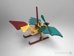 WoodCraft Sea Plane
