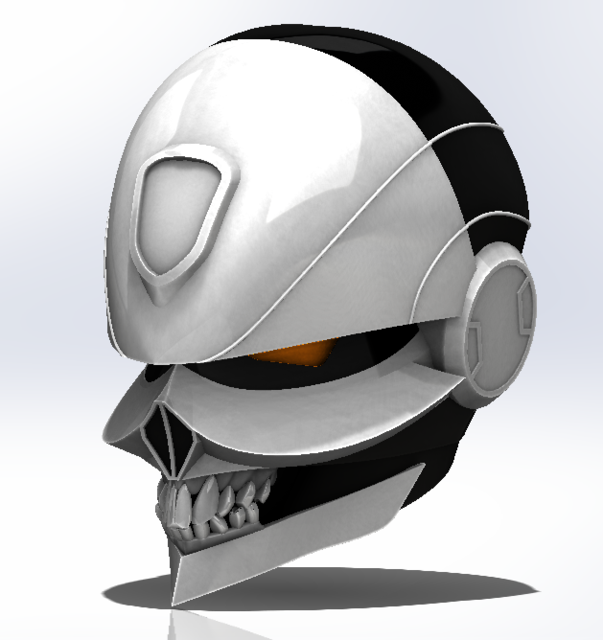 All-New Ghost Rider | 3D CAD Model Library | GrabCAD