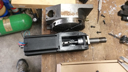 Rotary table CNC conversion