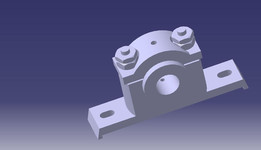 plummer block model