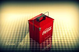 Vintage Coke 'Coca Cola' Cooler