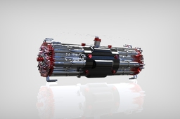 Axial Vector Engine 12 Cylinder Concept
