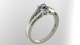 Engagement Ring INVERTED