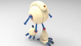Bar-globe, Meuble-globe, inspiré par... Akira Toriyama