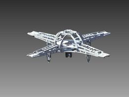 Quadcopter frame revision