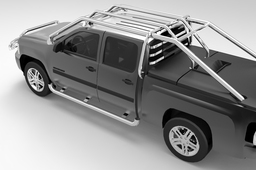 Chevrolet Silverado 2007 with IRON_X6 Guards