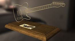 Wire Model Telecaster