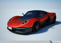 500 Group Supercar Concept M
