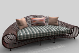 Croissant sofa (by Gus)