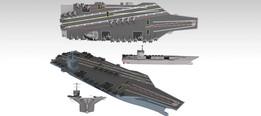Aircraft Carrier(Gerald R. Ford-class Model)