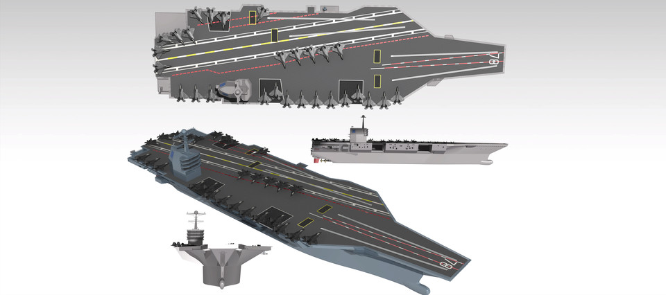 aircraft carrier gerald r ford class model step iges catia 3d cad mod. Cars Review. Best American Auto & Cars Review