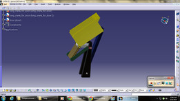 Dump Truck Mechanism Simulation Using Four Bar linkages