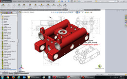 Technical drawing practice to Solidworks (Versión Luis Arias)