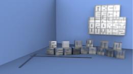 Alphabet Bookshelves