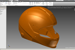 Sparco Helmet - NURBS conversion of Tõnis Vanaselja's 3D scan