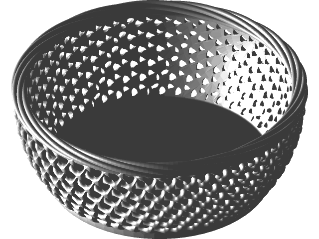 Basket Plastic In Solidworks 390 3d Cad Model Library Grabcad