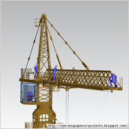 TOWER CRANE -ASSEMBLY-