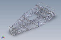 kit car 3D weldment