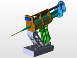 Glue gun for modeller