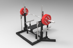 Powerlifting Competition Rack