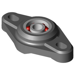 EFOM-BB1-P08-B180-ES Two hole flange bearing