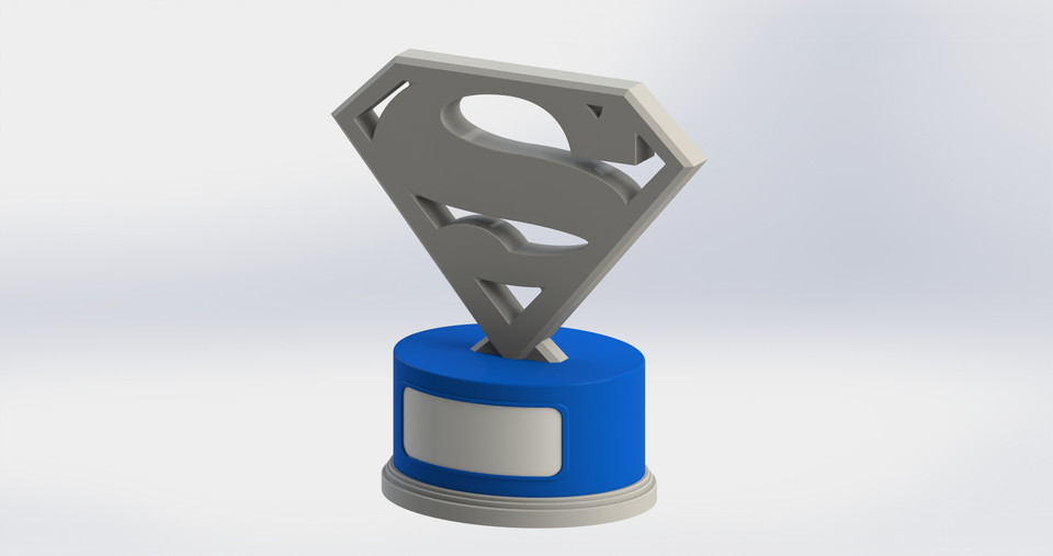 how to draw a 3d trophy