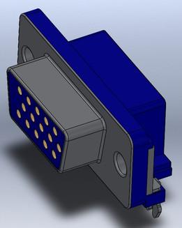 d-sub - Recent models | 3D CAD Model Collection | GrabCAD Community