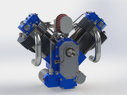 Engine V Twin