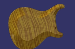Prs guitar carved top