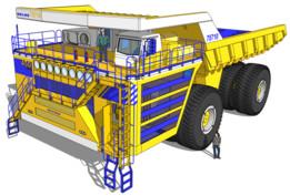 Belaz 75710 Dump Truck