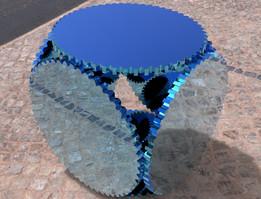 Geared cubesat