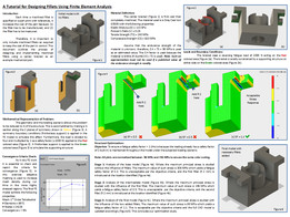 A Tutorial for Designing Fillets Using Finite Element Analysis