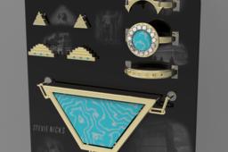 "Stevie Nicks' ""Seven Wonders"" Jewelry Set"