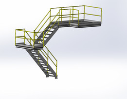 stairs - Recent models   3D CAD Model Collection   GrabCAD