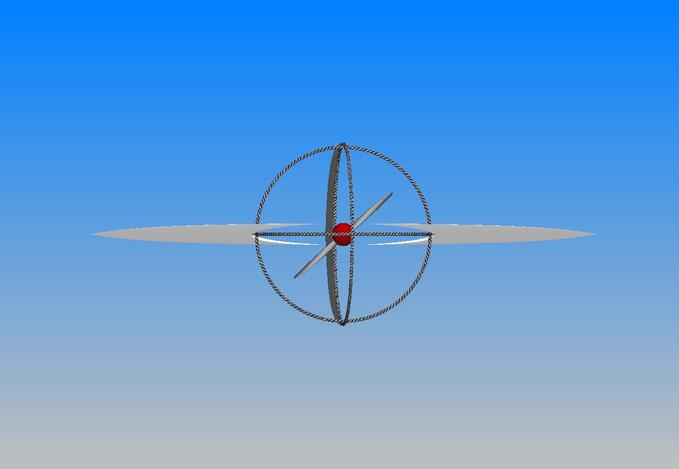 Sphere modul aircraft.