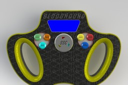BLOODHOUND SSC Steering Wheel Concept Design