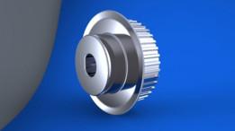 Gear belt pulley 25mm
