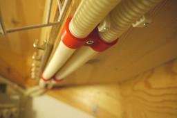 ∅20mm PVC pipe screw clips